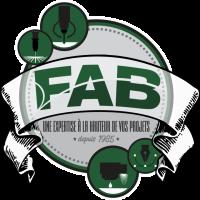 Logo Rond Découpage FAB